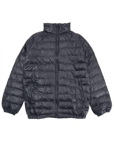Однотонная стеганая куртка для мальчика 10-14 лет Bonito черная