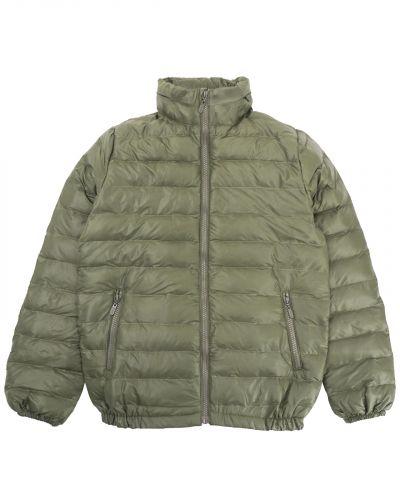 Однотонная стеганая куртка для мальчика 10-14 лет Bonito хаки