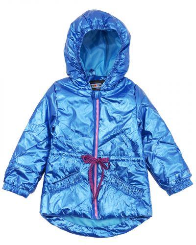 Нейлоновая куртка для девочки 3-7 лет Bonito синяя
