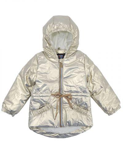 Нейлоновая куртка для девочки 3-7 лет Bonito золотая