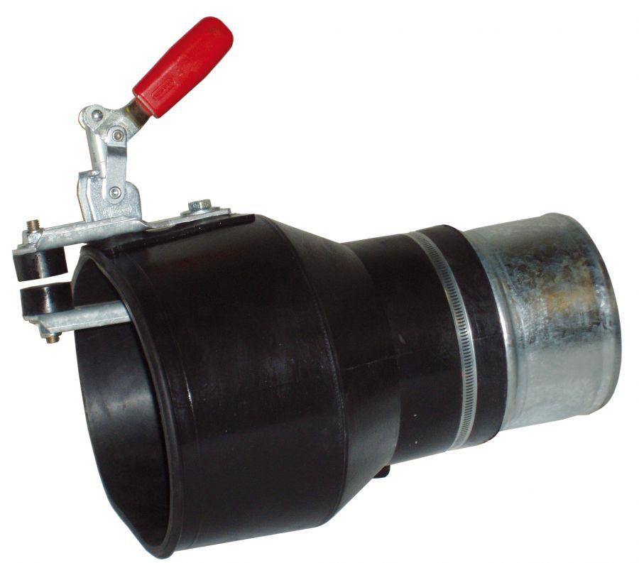 Aerservice BGNP1000075140 Насадка газоприёмная 75 мм. из каучука с зажимом