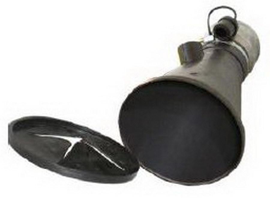 Aerservice BGNT0000000150 Насадка газоприёмная 150 мм. из каучука с заслонкой