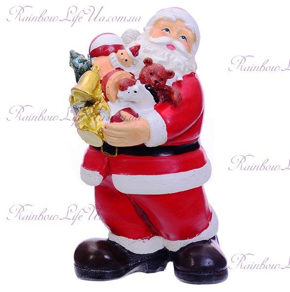"""Фигурка новогодняя """"Санта Клаус с подарочками"""""""