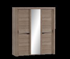 Соренто спальня шкаф с раздвижными дверями (3 дв)