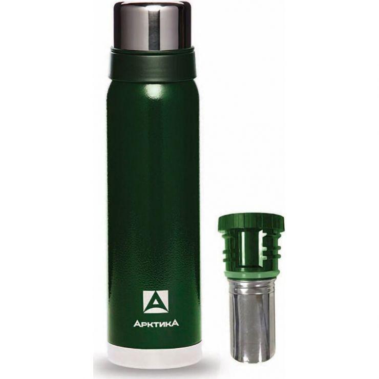 Термос АРКТИКА 106-750C зеленый с ситечком