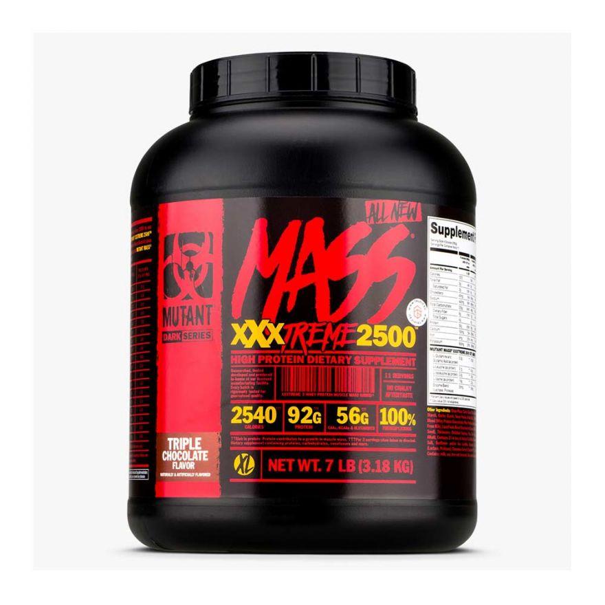 Гейнер Mutant Mass XXXtreme 2500, 7Lbs, 3180 гр