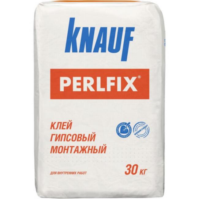 Клей гипсовый монтажный Knauf Перлфикс 30кг