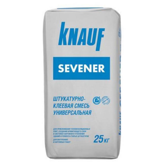 Смесь штукатурно-клеевая Knauf Севенер 25кг