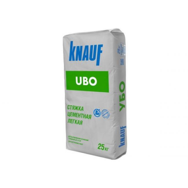 Стяжка цементная легкая Knauf Убо, 30-300мм 25кг