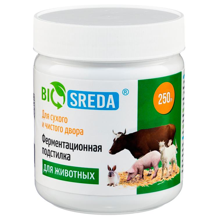 Ферментационная подстилка для животных BIOSREDA