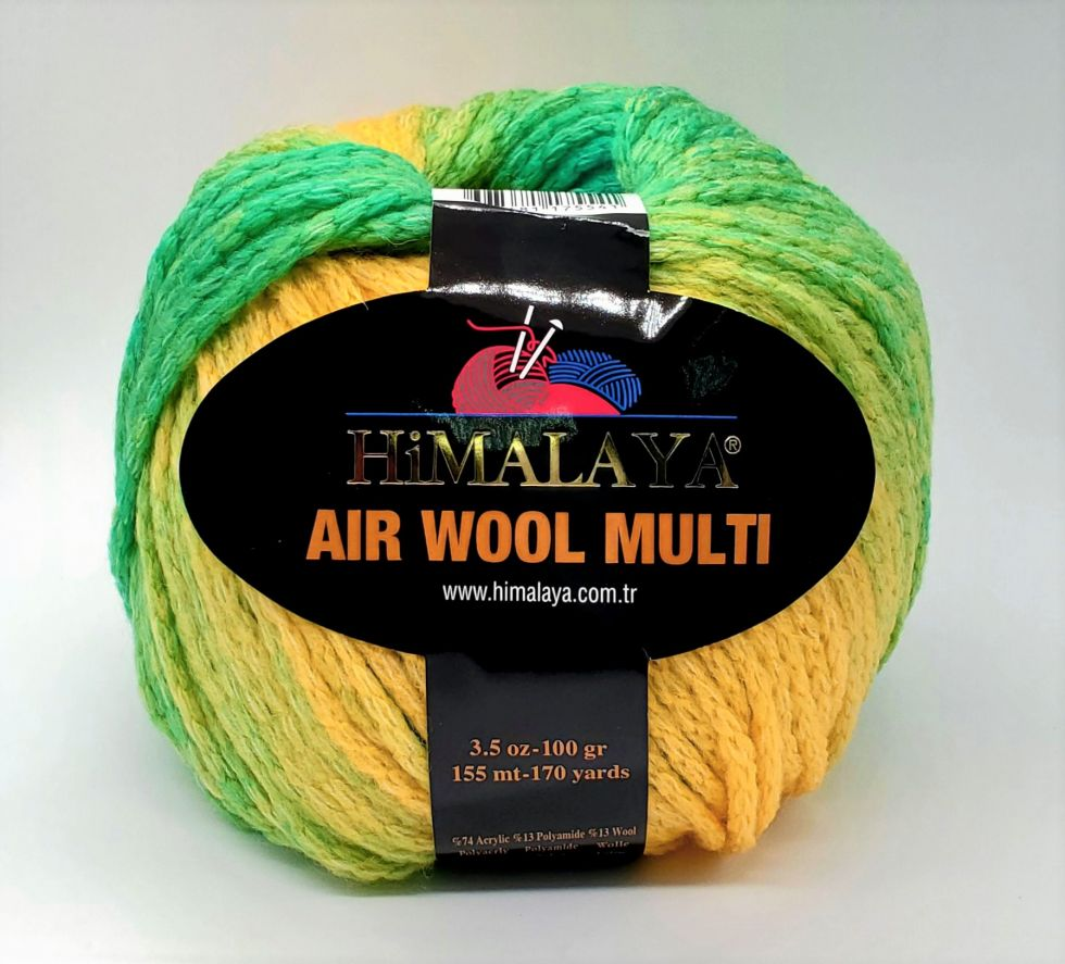 AIR WOOL MULTI Цвет № 130