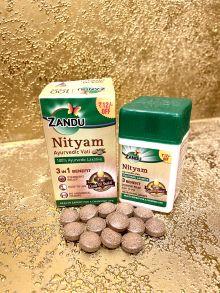 Нитьям 30 таб, Zandu Nityam Tablet