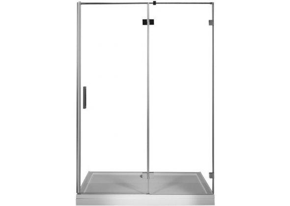 Душевая дверь Aquanet Beta NWD6221 120 L, прозрачное стекло