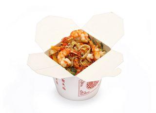 Лапша WOK с морепродуктами