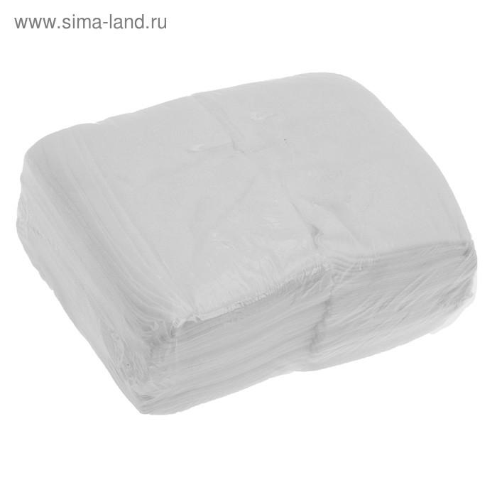 Салфетка одноразовая, 30*30 пачка (40г/м2), №100 индивидуального сложения
