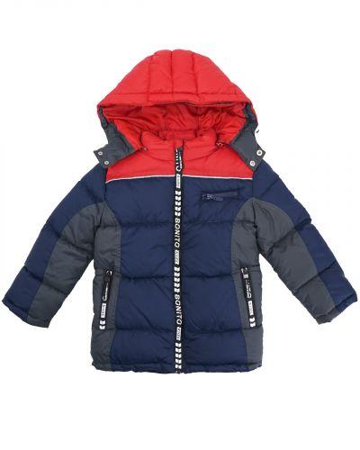 Куртка с капюшоном для мальчика 7-11 лет Bonito OP049K