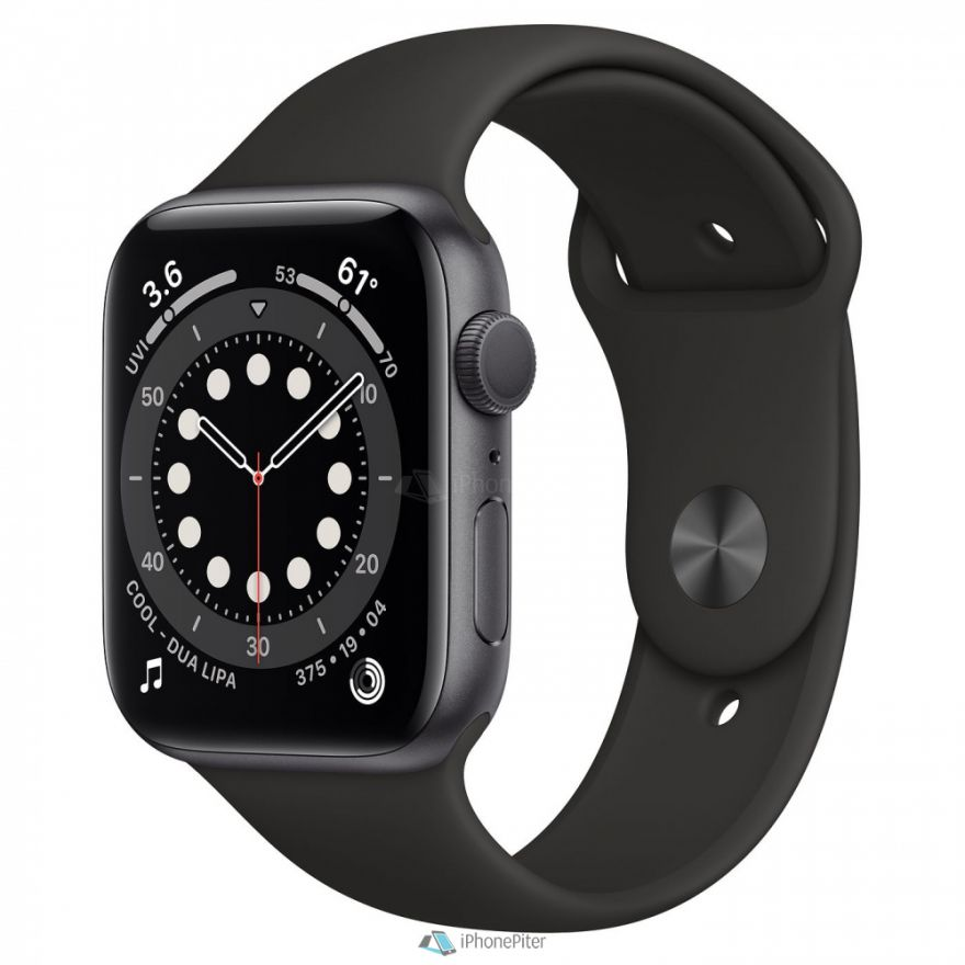 Часы Apple Watch Series 6 GPS 44mm Black