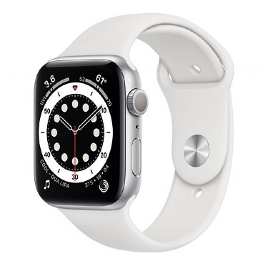 Часы Apple Watch Series 6 GPS 44mm White