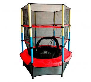 Батут с сеткой DFC Jump Kids 55INCH-JD-RYB (137 см)