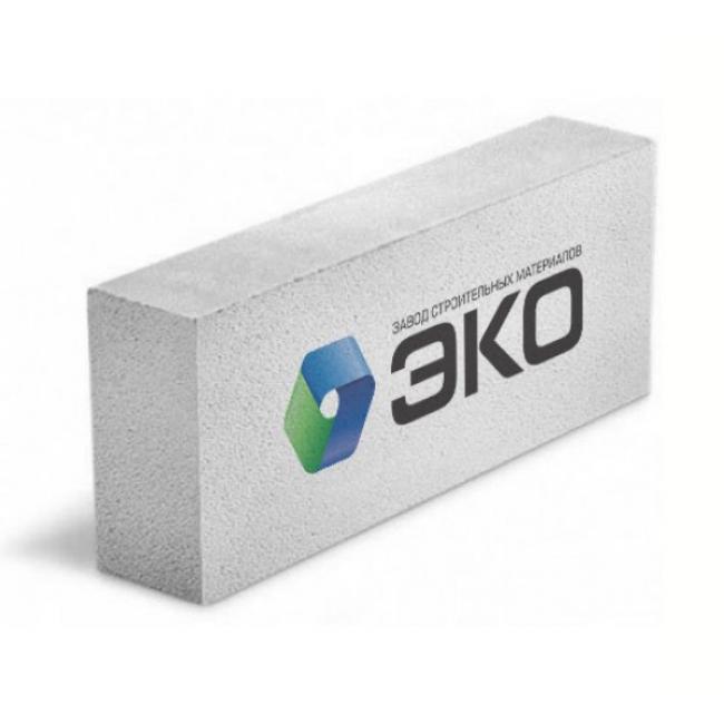 Газобетонный блок ЭКО 600х250х100мм