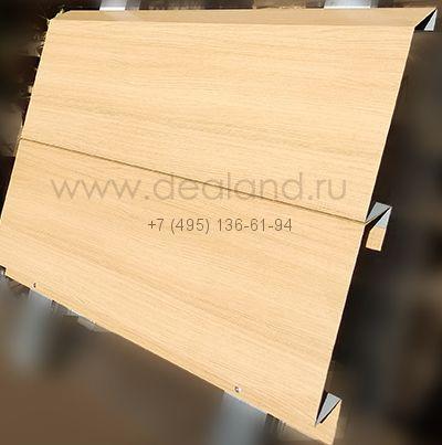 Модульная потолочная система панель 230*3000 светлое дерево