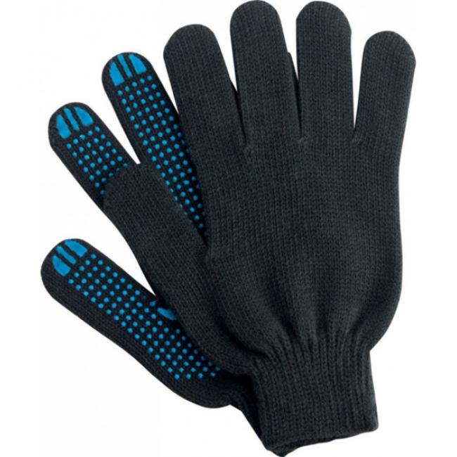 Перчатки ХБ утепленные