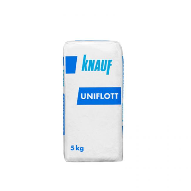 Шпаклевка высокопрочная Knauf Унифлот гипсовая 5кг