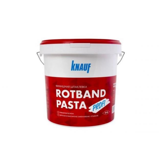 Шпаклевка финишная Knauf Ротбанд Паста Профи готовая 18кг