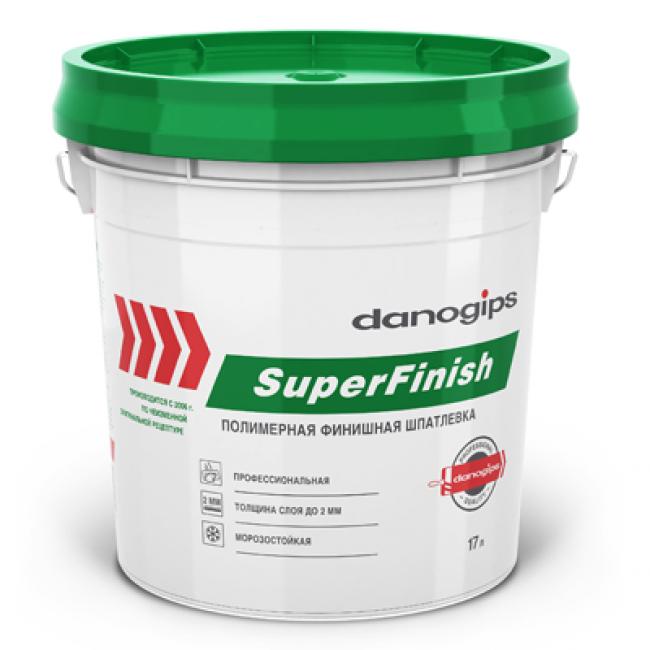 Шпаклевка финишная Шитрок Danogips SuperFinish готовая 28кг