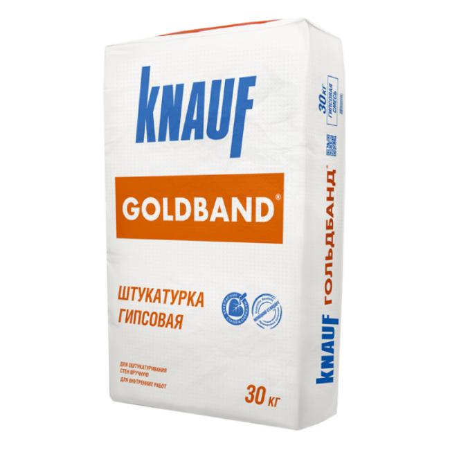 Штукатурка гипсовая Knauf Гольдбанд 30кг