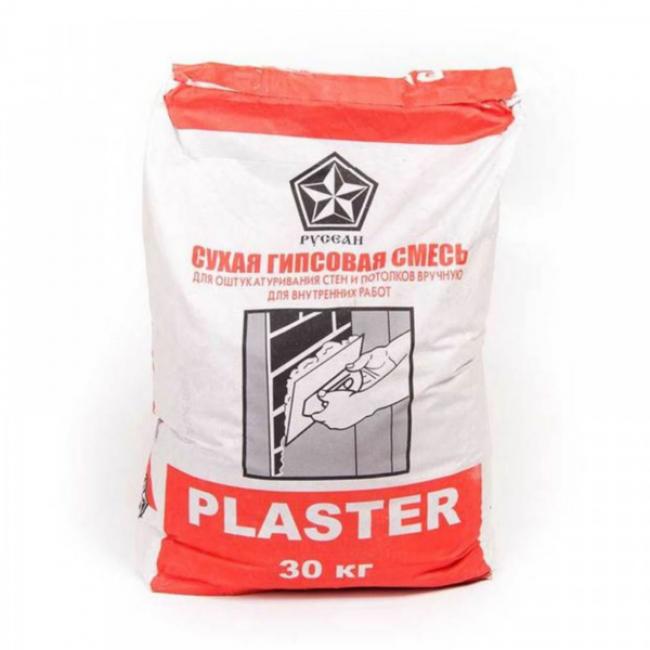 Штукатурка гипсовая Plaster Русеан 30кг
