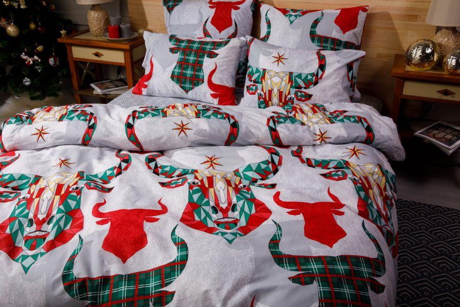 Поплин 1.5 спальный [в ассортименте] Антол постельное белье