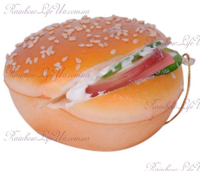 """Имитация - подвеска """"Бургер"""""""