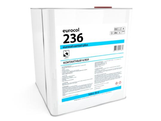 Контактный клей 236 Eurosol Contact Plus (3,8 кг)