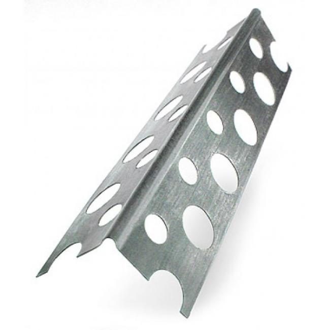 Профиль углозащитный алюминиевый 25х25мм L=3м