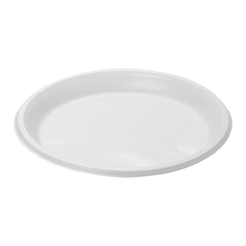 Одноразовые тарелки ЭКО ПС 20.5 см 100 шт