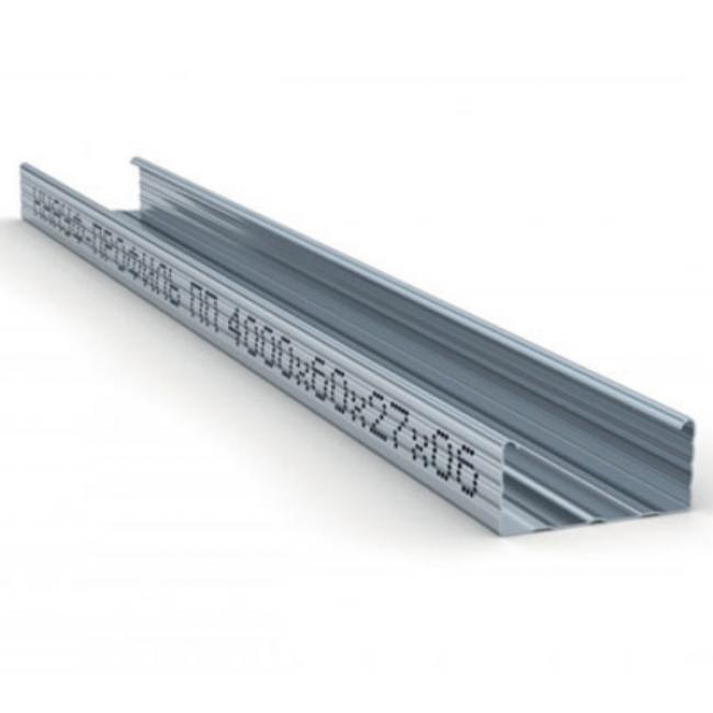 Профиль потолочный ПП 60х27х0,6мм L=4м Knauf