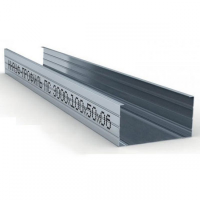 Профиль стоечный ПС 100х50х0,6мм L=3м Knauf