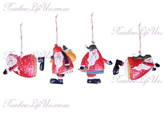 """Подвеска - украшение новогодняя """"Санта Клаус"""""""