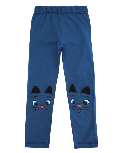 Лосины для девочки 2-6 лет Bonito kids BK1040L синие