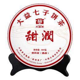 Шу пуэр Приятная сладость 2020 года (блин, 357 г)