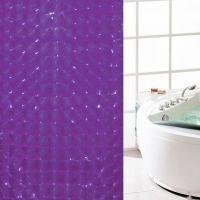 3D Штора для ванной 180х180 см_3