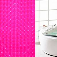 3D Штора для ванной 180х180 см_4