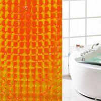 3D Штора для ванной 180х180 см_5