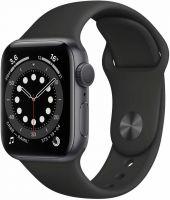 Apple Watch Series 6, 40 мм, чёрный