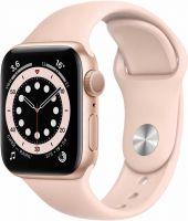 Apple Watch Series 6, 40 мм, розовый песок