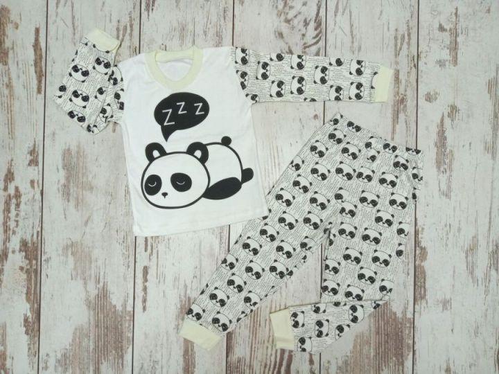 "Пижама детская ""Панда"" A-PJ023-ITpk / 02134"