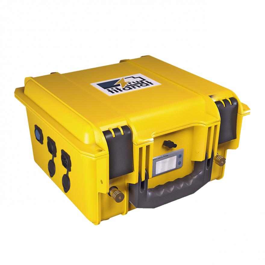 Аккумулятор LiFePO4 12V 105Ah защищённый (2USB+прикуриватель+вольтметер)