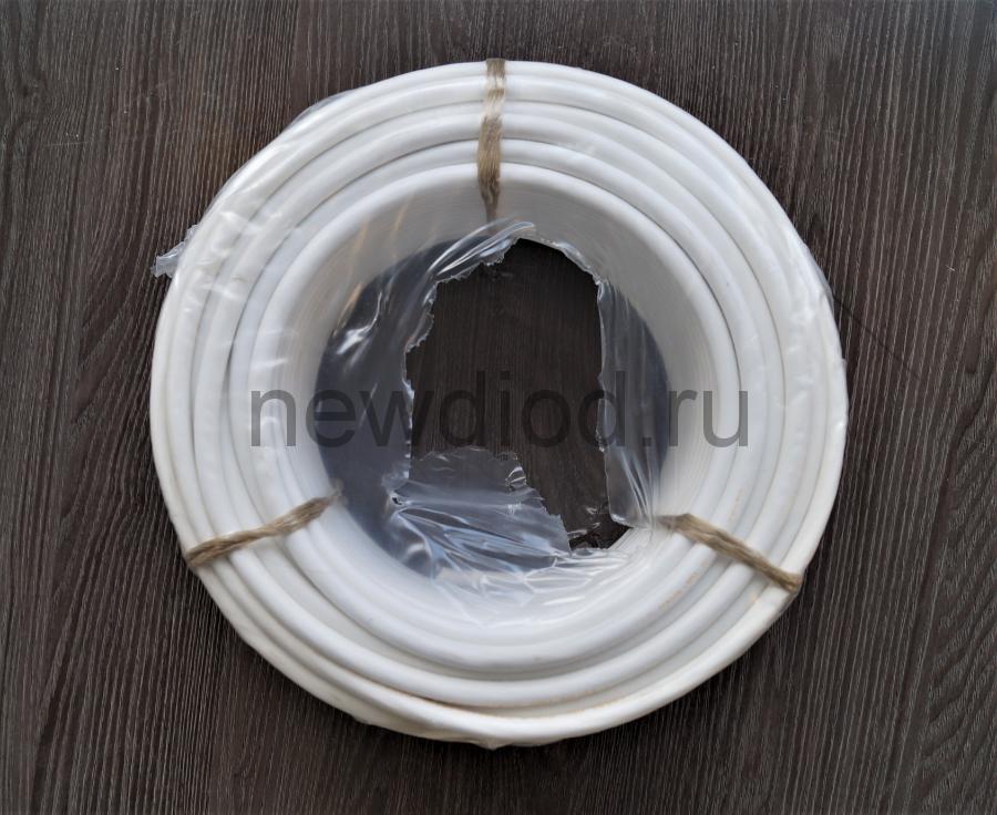 Кабель ПВС 3х2,5 (ГОСТ 7399-97) белый Бухта 50 м
