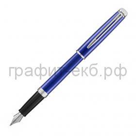 Ручка перьевая Waterman Hemisphere CT Bright Blue F перо сталь нержавеющая 2042967